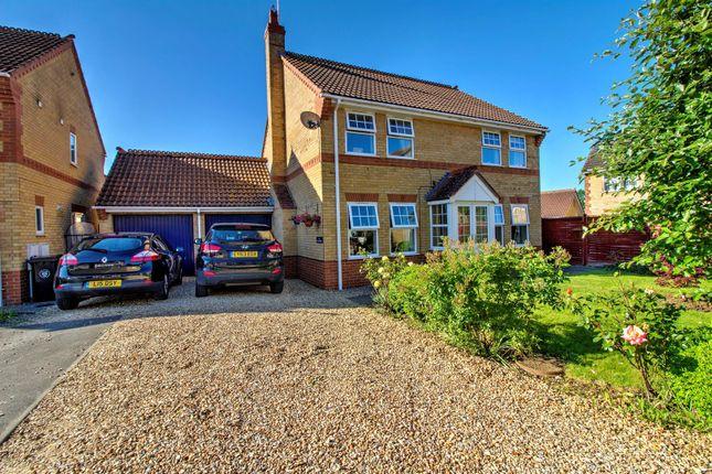 Thumbnail Detached house for sale in Deene Close, Market Deeping, Peterborough