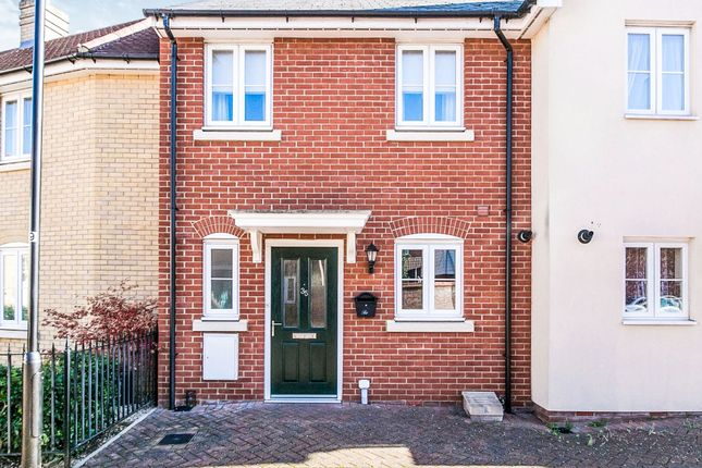 Thumbnail End terrace house for sale in Salamanca Way, Colchester
