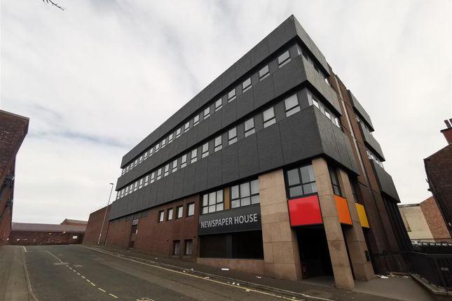 1 bed flat to rent in Newspaper House, High Street, Blackburn BB1
