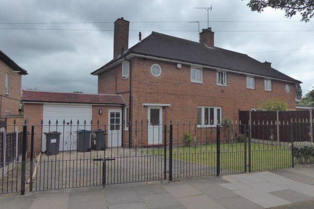 Thumbnail Semi-detached house for sale in Edenhurst Road, Birmingham