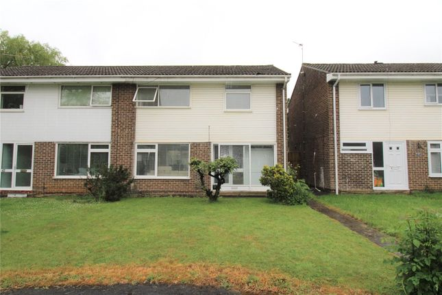 Thumbnail Semi-detached house for sale in Tryon Close, Liden, Swindon