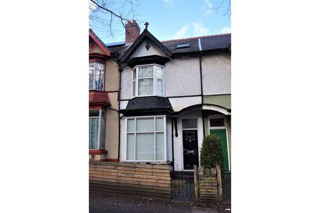 Thumbnail Terraced house for sale in Frances Road, Erdington, Birmingham