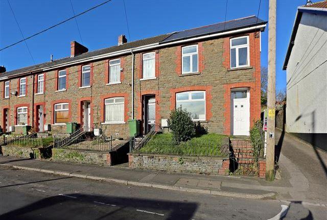 Thumbnail End terrace house for sale in Llest Terrace, Llantwit Fardre, Pontypridd