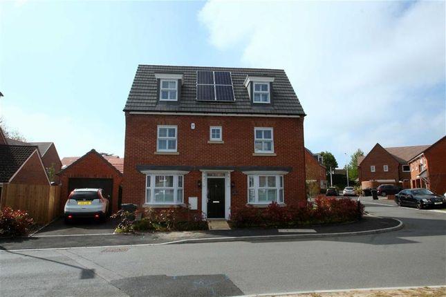 Thumbnail Detached house to rent in Kersey Crescent, Speen, Newbury