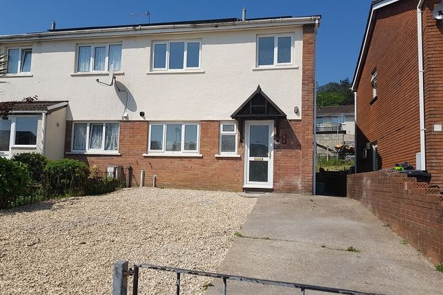Thumbnail Semi-detached house to rent in Tyle-Teg, Clydach, Swansea