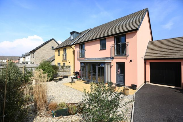 Thumbnail Detached house for sale in Causeway View, Plymouth