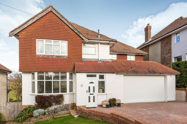 Thumbnail Detached house for sale in Hill Rise, Seaford