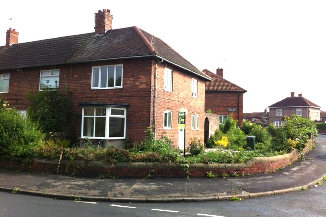 Thumbnail End terrace house to rent in Holmes Carr Road, Rossington, Doncaster