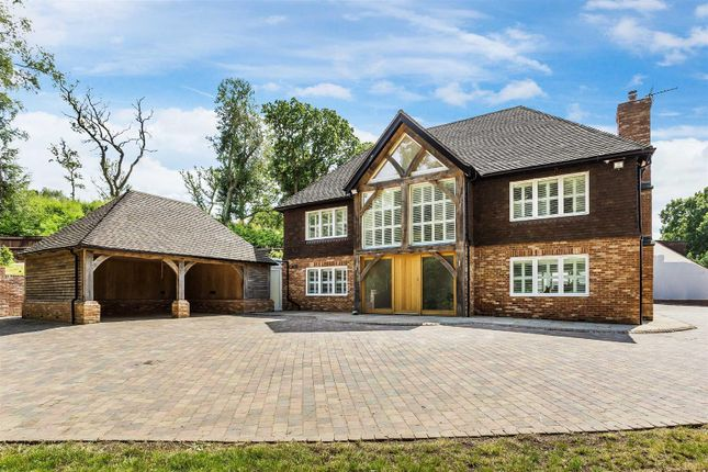 Thumbnail Detached house for sale in Weavers Down, Longmoor Road, Liphook