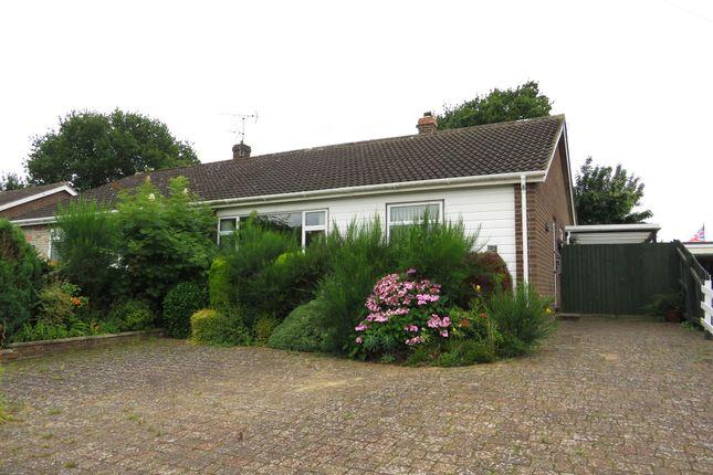Thumbnail Semi-detached bungalow for sale in Ascot Gardens, Dereham