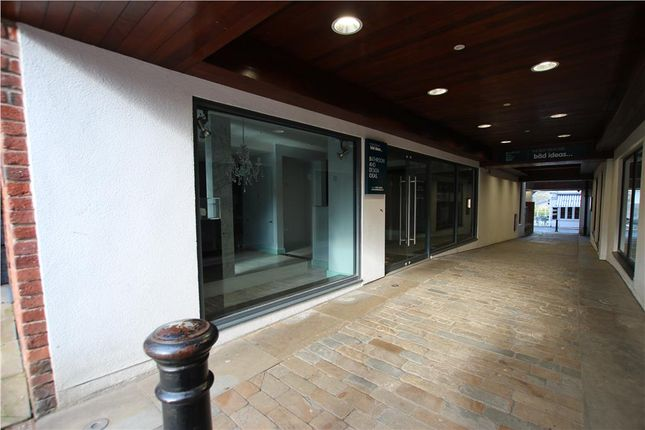 Thumbnail Retail premises to let in Unit 6, Regent Street, Knutsford, Cheshire