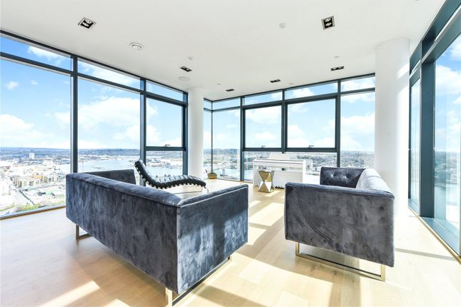 Thumbnail Flat for sale in The Moresby Tower, Admirals Quay, Ocean Village, Southampton