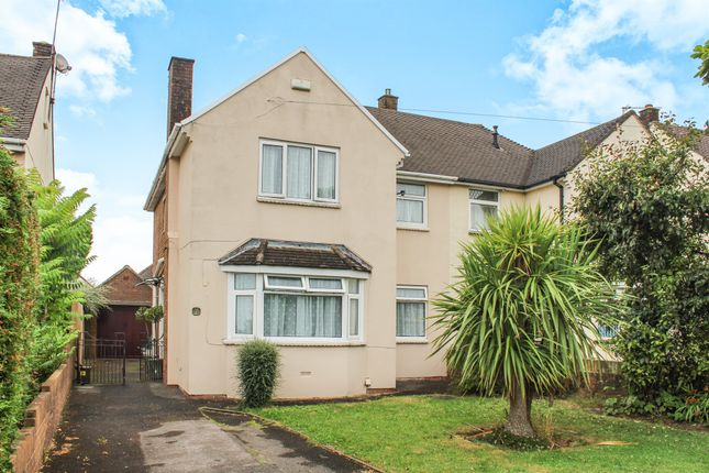 Thumbnail Semi-detached house for sale in Axbridge Crescent, Llanrumney, Cardiff