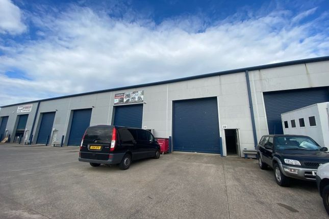 Thumbnail Industrial to let in Unit 22, Newport Business Centre, Corporation Road, Newport