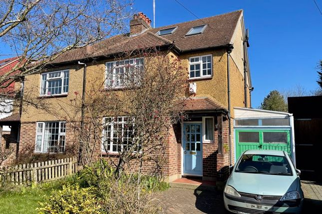 Thumbnail Semi-detached house for sale in Rectory Lane, Long Ditton, Surbiton