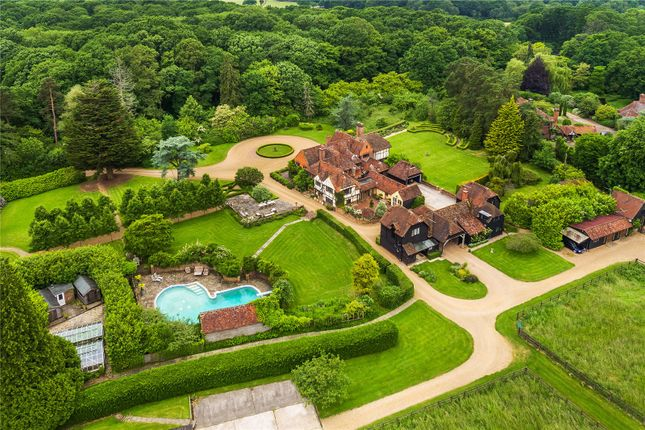 Thumbnail Detached house for sale in Alfold Road, Dunsfold, Godalming, Surrey