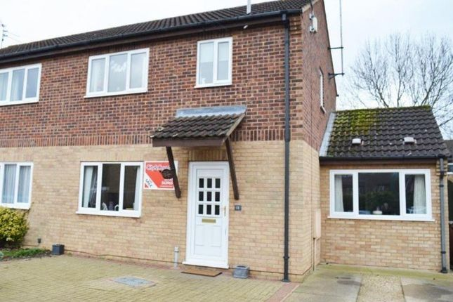 Thumbnail Semi-detached house to rent in Kingfishers, Orton Wistow, Peterborough