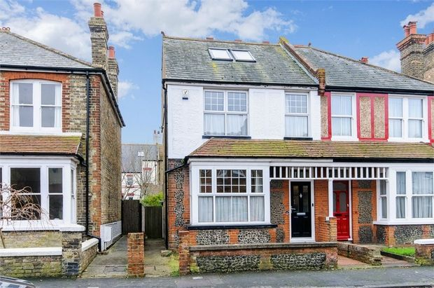Thumbnail Semi-detached house for sale in Walmsley Road, Broadstairs