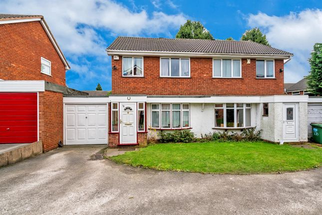 Thumbnail Semi-detached house for sale in Foxhill Close, Heath Hayes, Cannock
