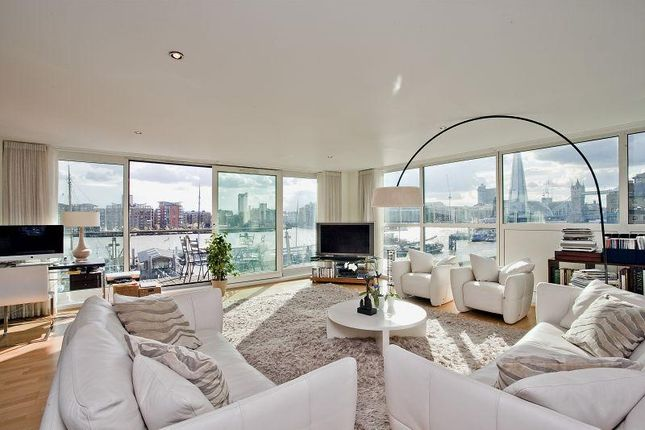 Thumbnail Flat for sale in Cinnabar Wharf West, 22 Wapping High Street, London