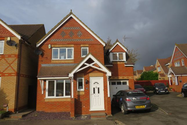 Thumbnail 3 bed detached house to rent in Cross Brooks, Wootton, Northampton