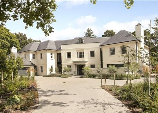 Thumbnail Detached house for sale in Golf Club Drive, Kingston Upon Thames, Surrey