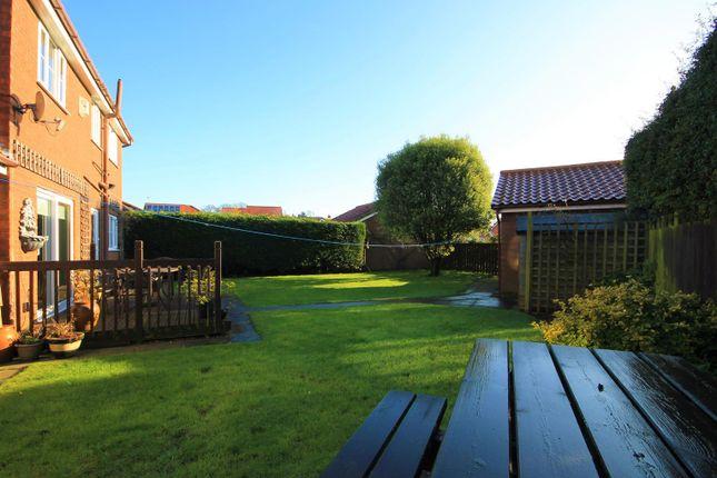 Rear Garden of Mill Hill Crescent, Northallerton DL6