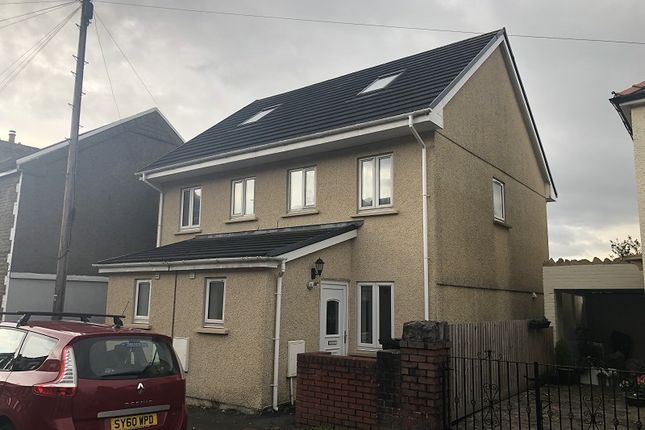 Thumbnail Semi-detached house to rent in Dynevor Road, Skewen, Neath, Neath Port Talbot.