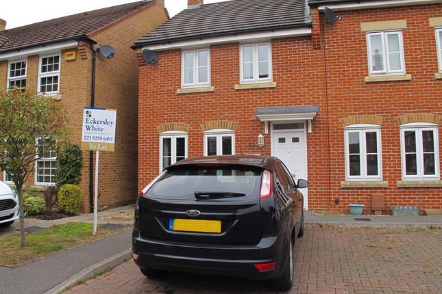 Thumbnail End terrace house to rent in Summerleigh Walk, Stubbington, Fareham