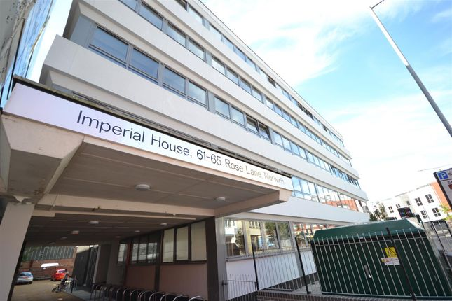 Thumbnail Flat for sale in Rose Lane, Norwich