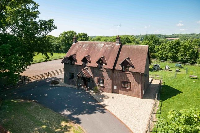 Thumbnail Equestrian property for sale in Uplands Road, Denmead, Waterlooville