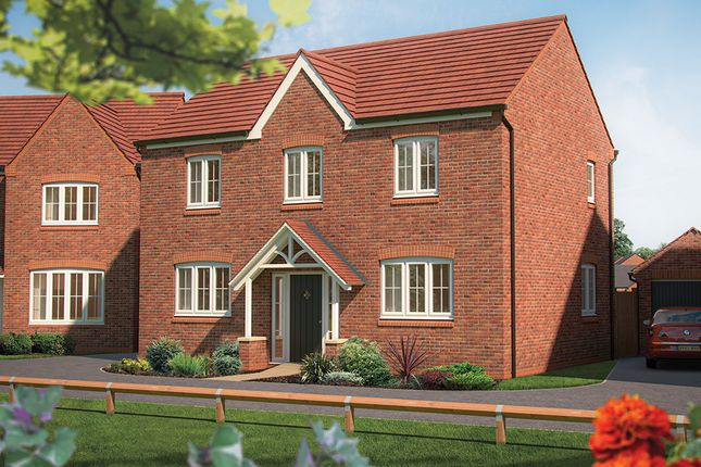 "Thumbnail Detached house for sale in ""The Chestnut "" at Marsh Lane, Nantwich"
