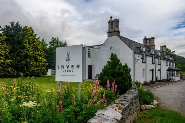 Thumbnail Detached house for sale in Inver Lodge, Ballater, Aberdeenshire