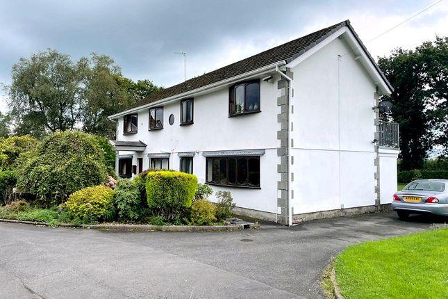 Thumbnail Detached house for sale in Dyffryn, Bryncoch, Neath.