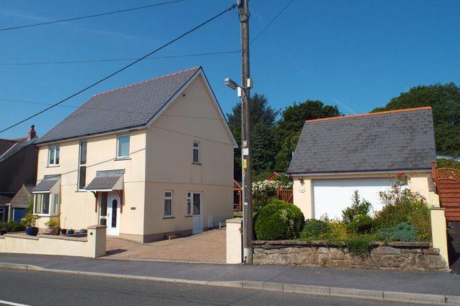 Detached house for sale in Llannon Road, Pontyberem, Llanelli