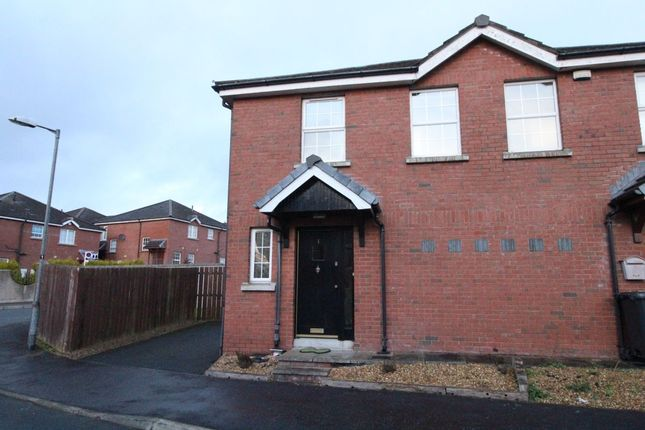Thumbnail Semi-detached house for sale in Larksborough Close, Newtownards