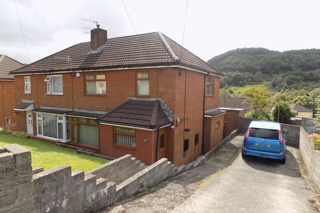 Thumbnail Semi-detached house for sale in Brynglas Avenue, Cwmavon, Port Talbot, Neath Port Talbot.