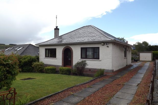 Thumbnail Bungalow to rent in Lammermuir Drive, Paisley