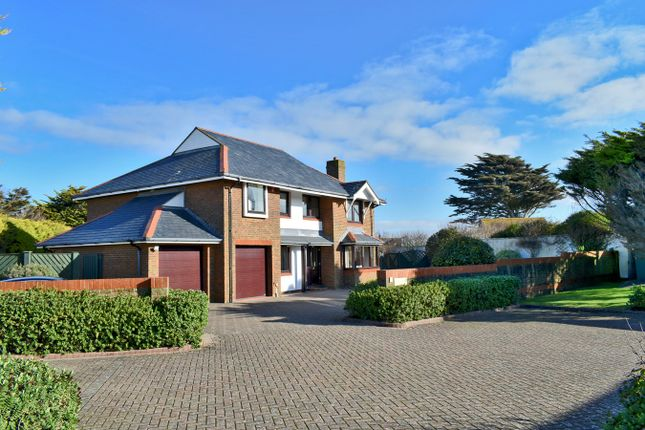 Thumbnail Detached house for sale in Hurdles Mead, Milford On Sea, Lymington