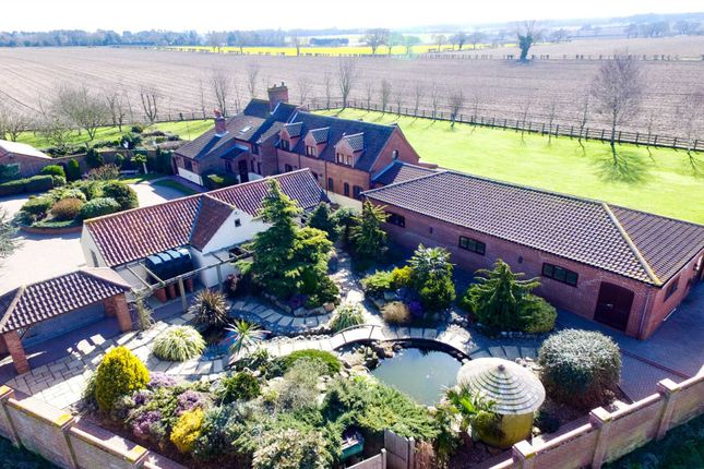 5 bed detached house for sale in Boyton Farmhouse, Lound, Lowestoft