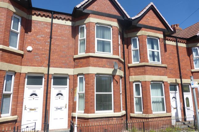 Thumbnail Terraced house to rent in Claughton Road, Birkenhead