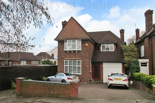Thumbnail Detached house for sale in Greenhill, Wembley
