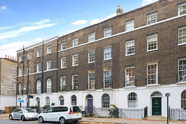 Thumbnail Terraced house for sale in Regent Square, London