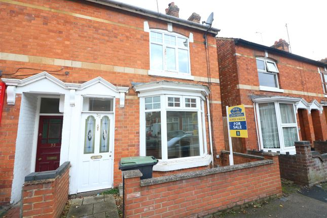 Thumbnail End terrace house for sale in Spencer Road, Rushden