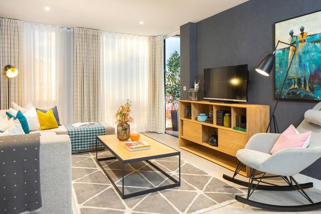 "Thumbnail 1 bedroom flat for sale in ""Hyde Apartments"" at Meadowlark House Moorhen Drive, Hendon, London"