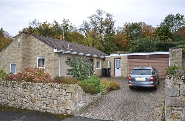Thumbnail Detached bungalow for sale in Moonfield, Hexham