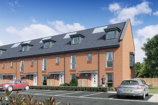 """Thumbnail Terraced house for sale in """"Plots 3 - 8"""" at Hulse Road, Shirley, Southampton"""