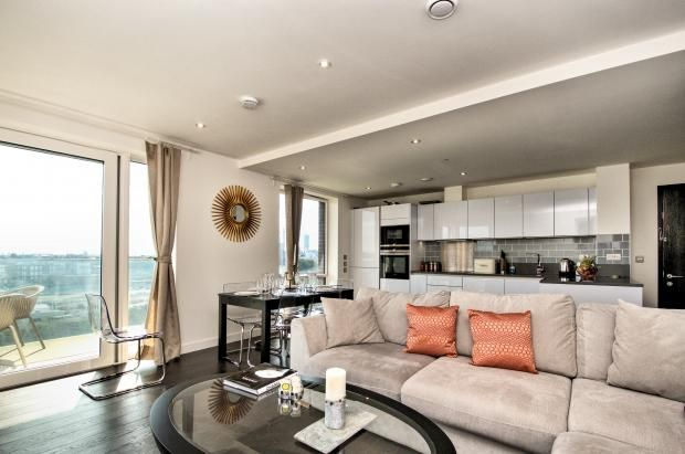 Thumbnail Flat to rent in Reminder Lane, North Greenwich, 0Nq
