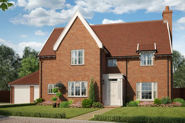 Thumbnail Detached house for sale in Plot 23 The Burghley, St Peter's Place, Church Road, Stutton