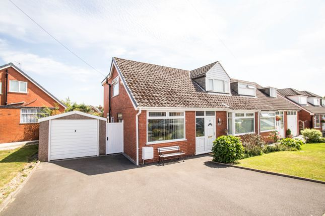 Thumbnail Semi-detached bungalow for sale in Medway Road, Worsley